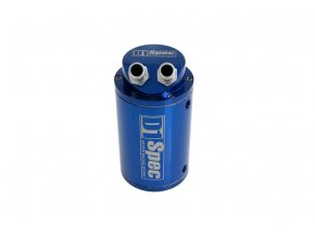 D1 SPEC Oil catch tank, zachyt. olejová nádoba 15mm - modrá