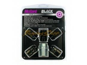 McGard bezpečnostní matky M12x1,5x37mm kužel 60, klíč 19 - černé
