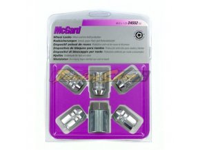 McGard bezpečnostní matky M14x1,5x39,7mm kužel 60, klíč 21