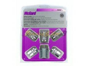 McGard bezpečnostní matky UNF 1/2x20x32,5mm kužel 60, klíč 19