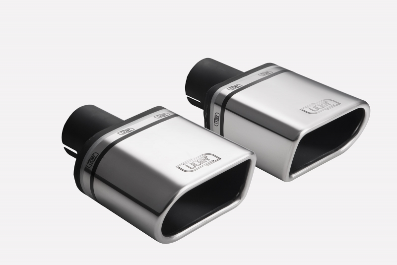 ULTER SPORT Koncovka výfuku 1x110x65 mm, levá N1-46L* /50 mm průměr vstupu