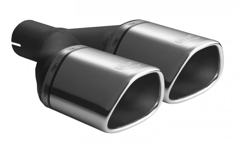 ULTER SPORT Koncovka výfuku 2x125x95 mm N2-52* /50 mm průměr vstupu