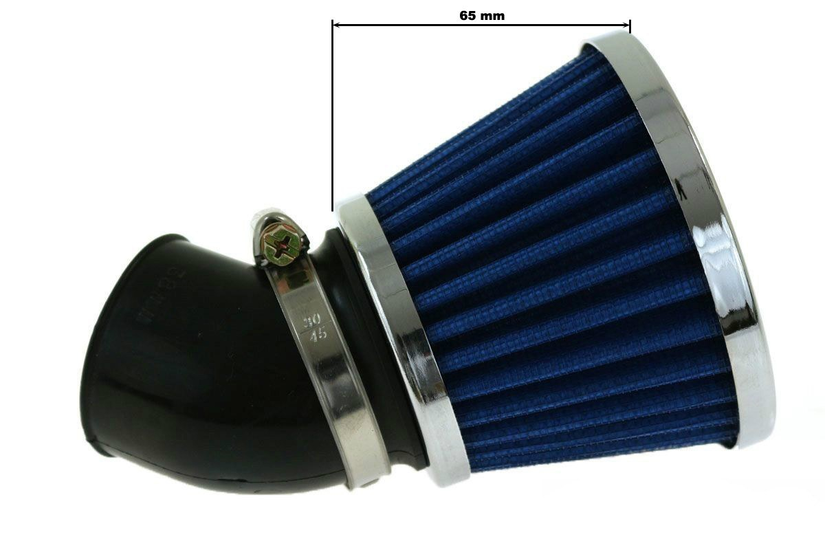 Vzduchový filtr SIMOTA 45° 48-50mm JS-9209-8