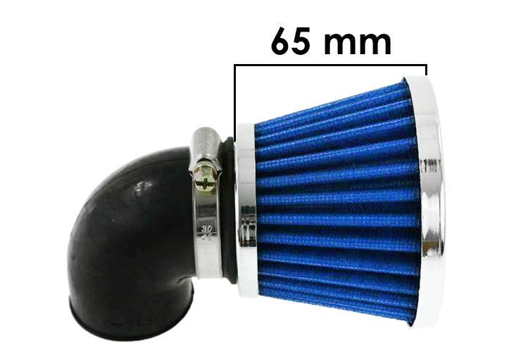 Vzduchový filtr SIMOTA 90° 28mm JS-8209-3