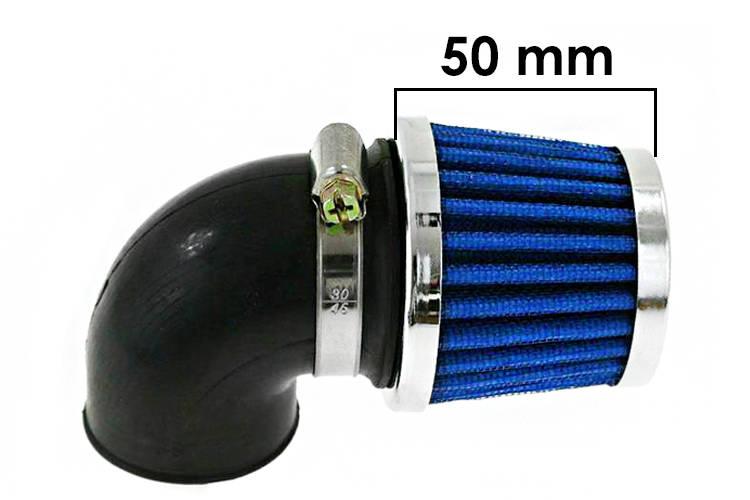 Vzduchový filtr SIMOTA 90° 32mm JS-8243-4